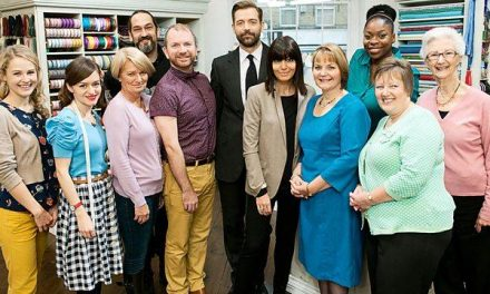 THE GREAT BRITISH SEWING BEE: WATCHING SEWING ON TELEVISION by Rachel Moseley