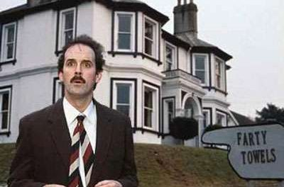 Inside Fawlty Towers by Marcus Harmes
