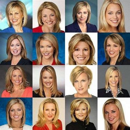 Blonde women on-air talent at Fox News in 2016