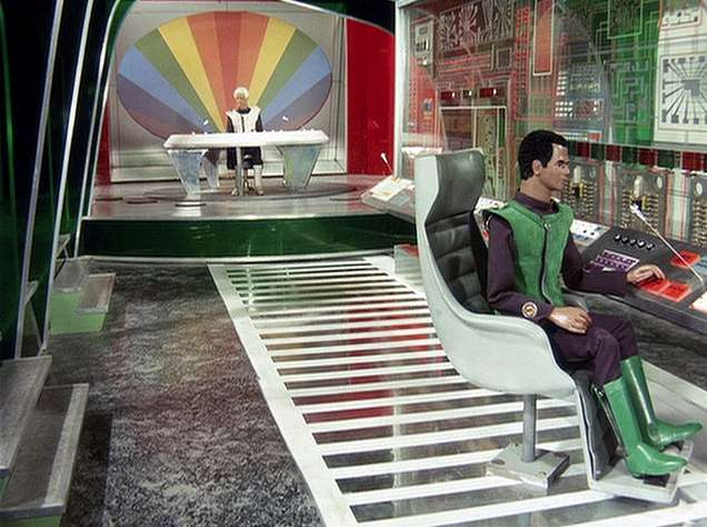 Fig. 2. Inside Cloudbase in Captain Scarlet: no walking necessary!