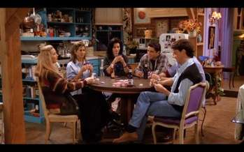 "Friends, season 1, episode 18, ""The One with All the Poker"""
