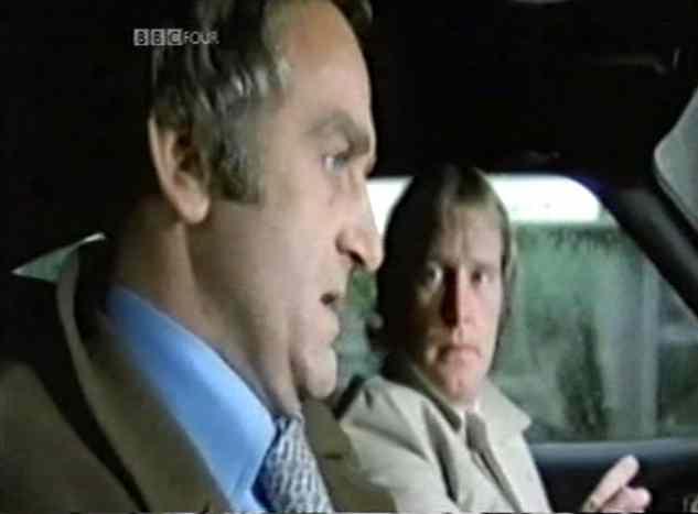 Sweeney in Car