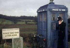 Tardis as Police Box