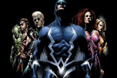 Figure 5: The Inhumans in comic book form