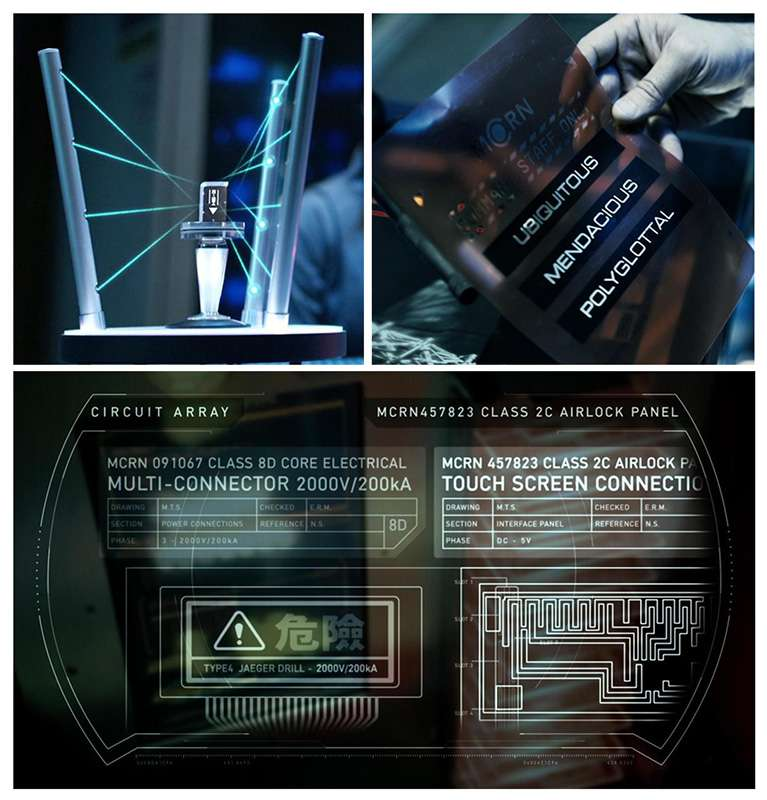 Technological advancements in The Expanse: laser data transfer, LED paper-foil, advanced schematics