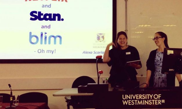 CONFERENCE REPORT: TRANS TV AT THE UNIVERSITY OF WESTMINSTER, SCHOOL OF MEDIA, ARTS AND DESIGN, 13-15 SEPTEMBER, 2017 by Andrew Lynch and Alexa Scarlata