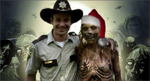 Image 2. Happy post-apocalyptic Christmas from AMC's the Walking Dead
