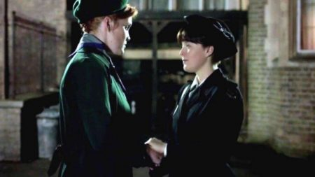 Patsy and Delia in Call the Midwife
