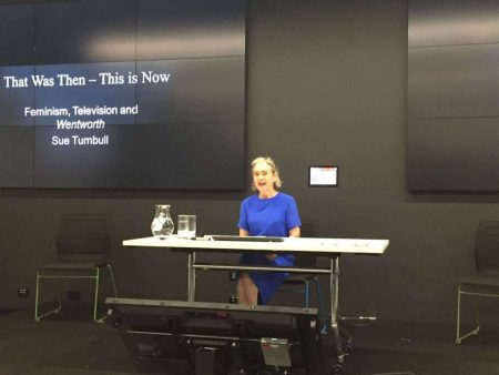 Keynote: Sue Turnbull (Photo credit: Kim Akass)