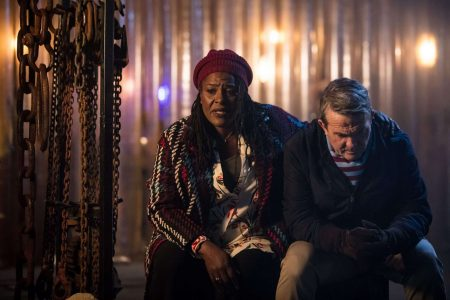 Doctor Who Series 11 - Episode: No. 1 Grace (SHARON D CLARKE), Graham (BRADLEY WALSH) - (C) BBC / BBC Studios - Photographer: Sophie Mutevelian