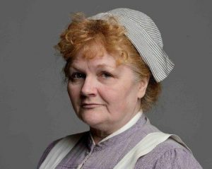 Fig. 1: Lesley Nicol in Downton Abbey