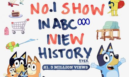 BLUEY! THE GORGEOUS CARTOON THAT BROKE CATCHUP RECORDS IN AUSTRALIA by Liz Giuffre