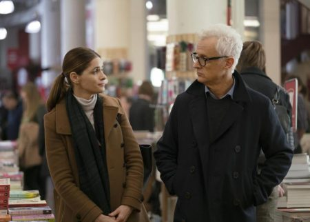 Amanda Peet and John Slattery in The Romanoffs. (Amazon)