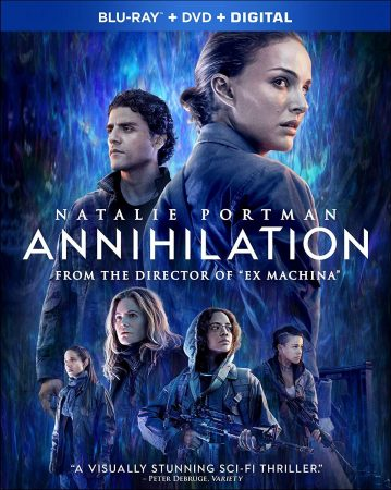 As of 1st April 2019, Annihilation is available on DVD and Blu-ray in the UK and USA.