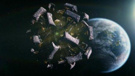 Figure 1: The Silurian Ark spaceship's organic aesthetic.