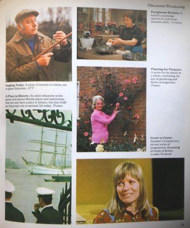 ITV adult education. ITV Handbook 1974