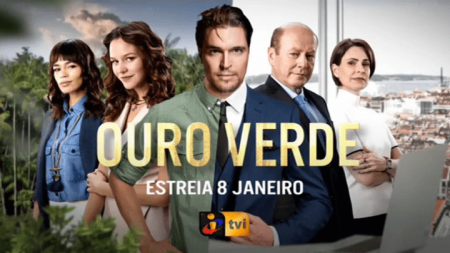 Teaser image for Ouro Verde (English: Payback), TVI.