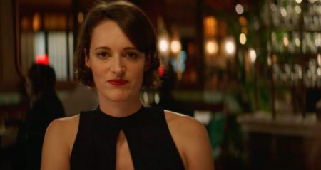 Fig. 1 Phoebe Waller-Bridge in a scene from Fleabag, series 2, ep. 1.