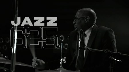 Fig. 2: Rod Youngs in Jazz 625 Live! (BBC FOUR, tx. 3 May 2019)