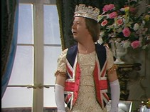 "Fig 3: ""I have the heart and stomach of a king!"" Queen Elizabeth (Glenda Jackson) in Elizabeth R: The Enterprise of England"