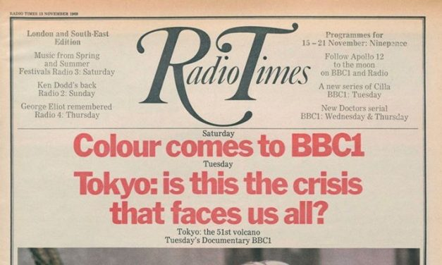IT'S FIFTY YEARS OF COLOUR TV IN THE UK by Jonathan Bignell