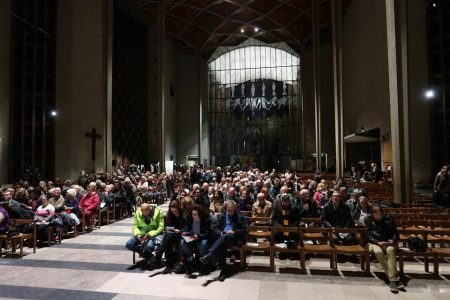 Fig. 2: The audience at Cathedral of Culture, December 2018.