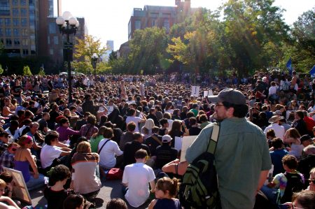 Fig. 3: The Occupy Movement in New York