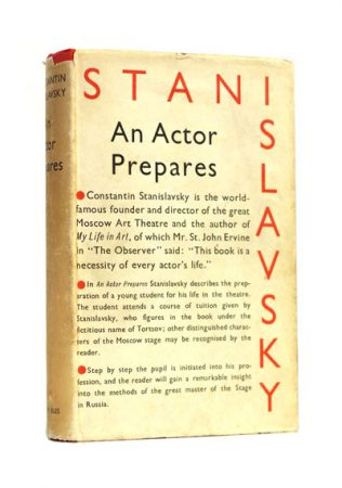 Fig. 3: first edition of Stanislavski's An Actor Prepares (1936)