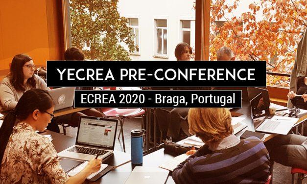 CfP: ECREA 2020 YECREA Pre-Conference – Young Scholar Workshops. Oct 01, 2020 @ Braga (POR). Deadline: April 05, 2020.