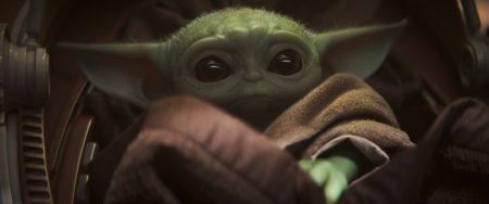 Fig. 4: 'Baby Yoda' in The Mandalorian (2019-). Image from https://www.vanityfair.com/hollywood/2019/11/the-mandalorian-star-wars-baby-yoda